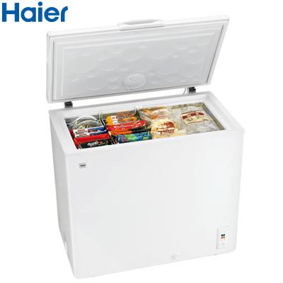 ハイアール 205L 上開き式冷凍庫 JF-NC205F-W ホワイト 【送料無料】【KK9N0D18P】