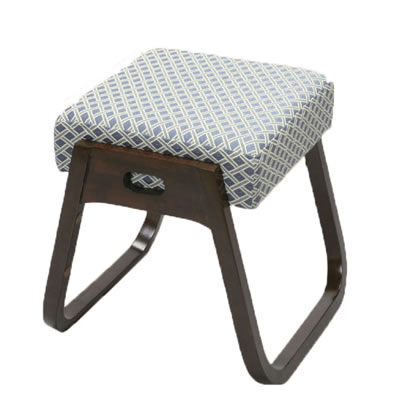 【キャッシュレス5%還元店】後藤 座・楽椅子 2脚組 木製イス 870247 【送料無料】【KK9N0D18P】