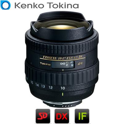【キャッシュレス5%還元店】トキナー カメラレンズ AT-X107 DX フィッシュアイ ニコン用 AT-X107-634110 Kenko Tokina 【送料無料】【KK9N0D18P】