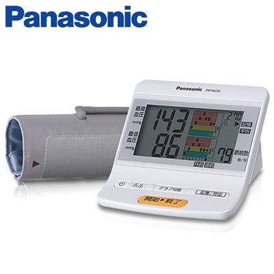 パナソニック 血圧計 上腕血圧計 グラフ表示 メモリー2人分 EW-BU56-W ホワイト 【送料無料】【KK9N0D18P】