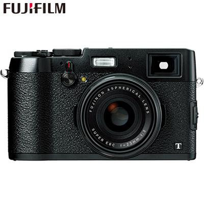 【キャッシュレス5%還元店】富士フイルム デジタルカメラ 1600万画素 Xシリーズ X100T-B ブラック 【送料無料】【KK9N0D18P】