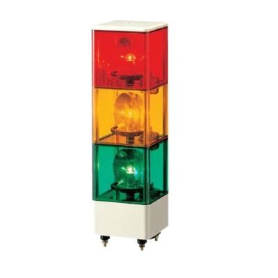パトライト キュービックタワー 積層回転灯 KJ-310-RYG 赤黄緑 【送料無料】【KK9N0D18P】