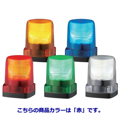 パトライト LEDフラッシュ表示灯 LFH-24-R 赤 【送料無料】【KK9N0D18P】