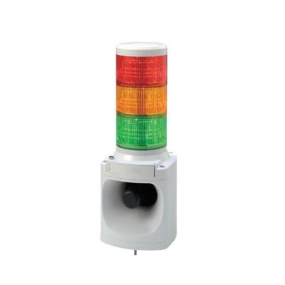 パトライト LED積層信号灯付き電子音報知器 LKEH-320FA-RYG 赤黄緑 【送料無料】【KK9N0D18P】