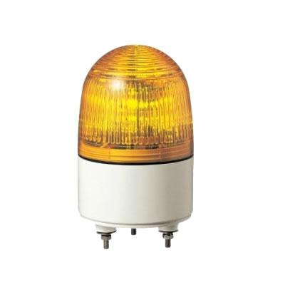パトライト 小型LED表示灯 PES-24A-Y 黄 【送料無料】【KK9N0D18P】