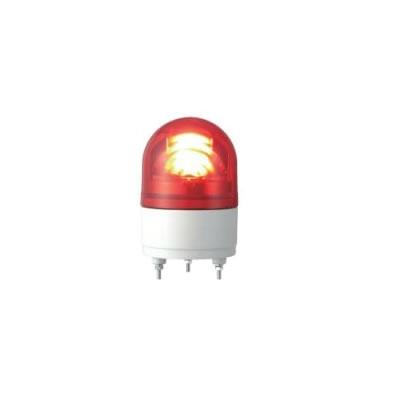 パトライト LED回転灯 ブザー付き RHEB-24-R 赤 【送料無料】【KK9N0D18P】