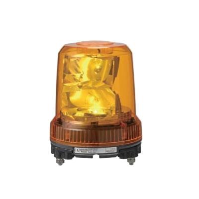 パトライト 強耐振大型パワーLED回転灯 RLR-M2-P-Y 黄 【送料無料】【KK9N0D18P】