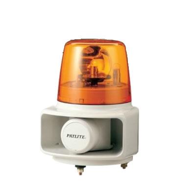 パトライト ホーンスピーカ一体型マルチ電子音回転灯 RT-100A-Y 黄 【送料無料】【KK9N0D18P】