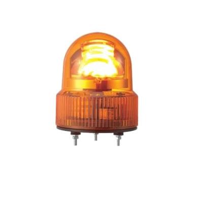 パトライト LED回転灯 ブザー付き SKHEB-24-Y 黄 【送料無料】【KK9N0D18P】