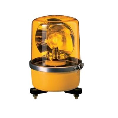 パトライト 中型回転灯 SKP-110A-Y 黄 【送料無料】【KK9N0D18P】