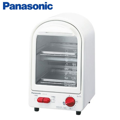 Toaster oven Panasonic vertical 2-stage compact two-story vertical NT-Y12P-W