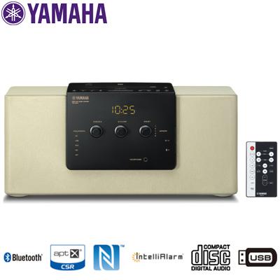 ヤマハ コンポ デスクトップオーディオシステム Bluetoothスピーカー TSX-B141-NC シャンパンゴールド CD/FM・AMラジオ/USB接続対応/