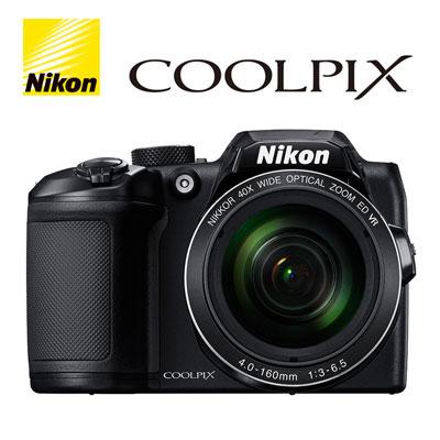 【キャッシュレス5%還元店】ニコン デジタルカメラ COOLPIX B500 デジカメ コンデジ COOLPIX-B500-BK ブラック 【送料無料】【KK9N0D18P】