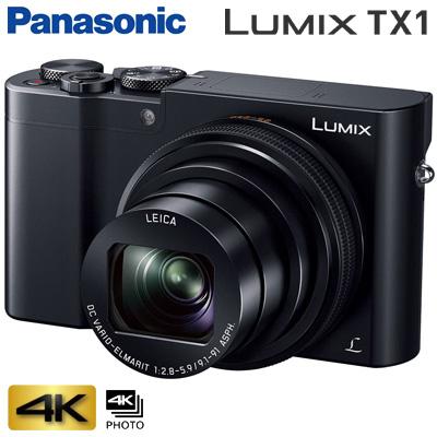 パナソニック デジタルカメラ コンパクトカメラ LUMIX ルミックス DMC-TX1 ブラック 【KK9N0D18P】