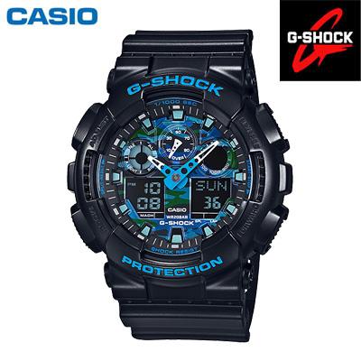 【キャッシュレス5%還元店】カシオ G-SHOCK メンズ 20気圧防水 耐衝撃構造 腕時計 GA-100CB-1AJF 2016年1月発売モデル 【送料無料】【KK9N0D18P】
