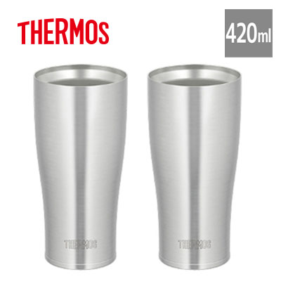 New Thermos vacuum insulation tumbler 420 ml stainless steel JDE-420 Free P/&P