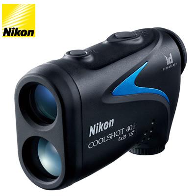 ニコン ゴルフ用 レーザー距離計 COOLSHOT 40i LCS40I ケース・ストラップ付【送料無料】【KK9N0D18P】