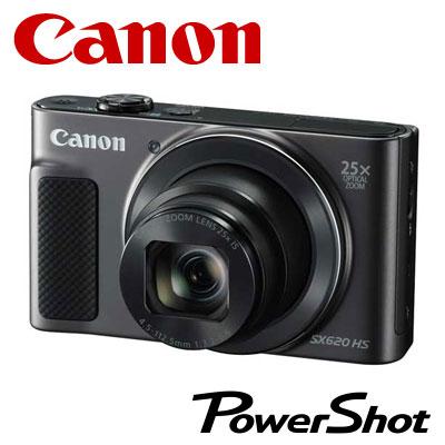 CANON デジタルカメラ PowerShot SX620 HS コンデジ PSSX620HS-BK ブラック 【送料無料】【KK9N0D18P】