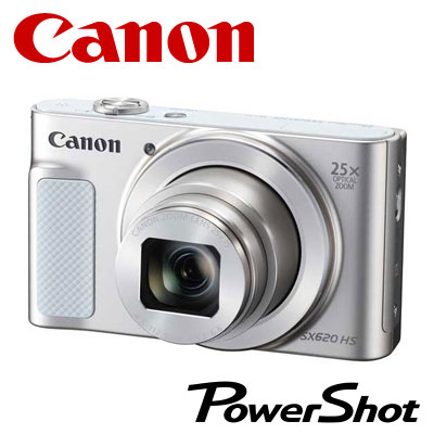 【キャッシュレス5%還元店】キヤノン デジタルカメラ PowerShot SX620 HS コンデジ PSSX620HS-WH ホワイト 【送料無料】【KK9N0D18P】