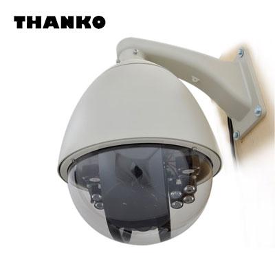 防犯カメラ サンコー スピードドームジョイスティック付防犯カメラシステム STSPDM54 【送料無料】【KK9N0D18P】