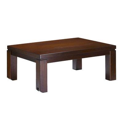 キャスター付きこたつ トリニティ 105×75cm こたつ テーブル 長方形 日本製 国産ローテーブル マストバイ 41200265-br ブラウン 【送料無料】【KK9N0D18P】
