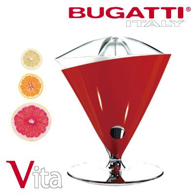 BUGATTI ITALY ジューサー ミキサー VITA JUICER RED ブガッティ・イタリー 55-VITAC3-JP レッド 【送料無料】【KK9N0D18P】