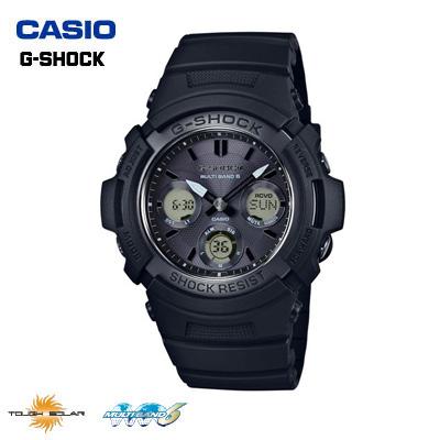 【キャッシュレス5%還元店】カシオ 腕時計 CASIO G-SHOCK メンズ タフソーラー 電波時計 AWG-M100SBB-1AJF 2016年11月発売モデル【送料無料】【KK9N0D18P】