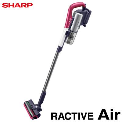 シャープ 掃除機 RACTIVE Air ラクティブ エア コードレスサイクロンタイプ スティッククリーナー EC-A1R-P ピンク系【送料無料】【KK9N0D18P】
