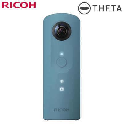 リコー デジタルカメラ リコー・シータSC RICOH THETA SC 全天球撮影カメラ THETA-SC-BL ブルー 360度高画質撮影【送料無料】【KK9N0D18P】