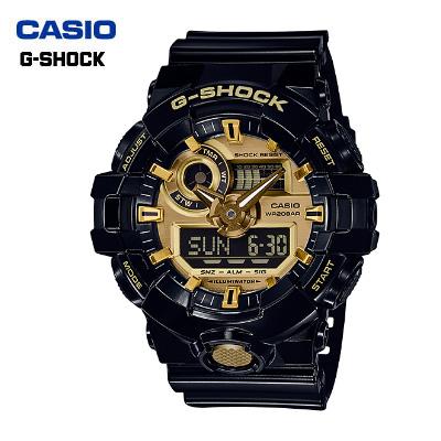 【キャッシュレス5%還元店】カシオ 腕時計 CASIO G-SHOCK メンズ GA-710GB-1AJF 2017年2月発売モデル【送料無料】【KK9N0D18P】