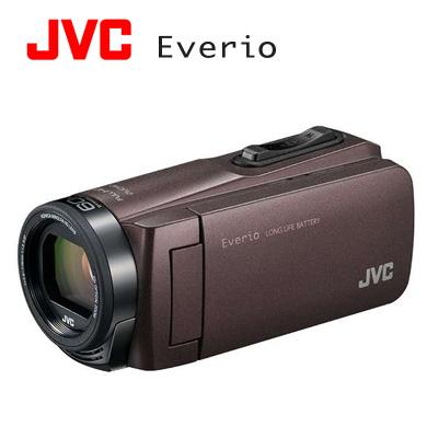 JVC ハイビジョンメモリームービー Everio エブリオ 耐衝撃 デジタルビデオカメラ 32GB GZ-F270-T ブラウン 【送料無料】【KK9N0D18P】