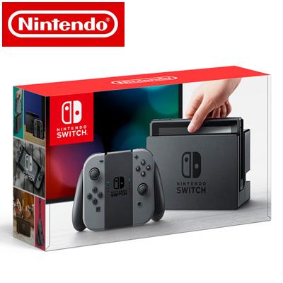 【最大1200円OFFクーポン配布中!~11/8(木)9:59迄】【新品】 任天堂 ニンテンドースイッチ Nintendo Switch 本体 HAC-S-KAAAA Joy-Con (L) / (R) グレー 【送料無料】【KK9N0D18P】