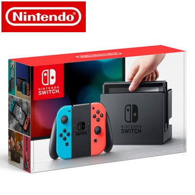 【新品】 任天堂 ニンテンドースイッチ Nintendo Switch 本体 HAC-S-KABAA Joy-Con (L) ネオンブルー/ (R) ネオンレッド 【送料無料】【KK9N0D18P】