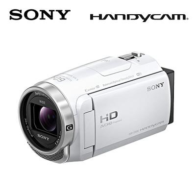 【キャッシュレス5%還元店】SONY デジタルHDビデオカメラレコーダー ハンディカム 64GB HDR-CX680-W ホワイト 【送料無料】【KK9N0D18P】