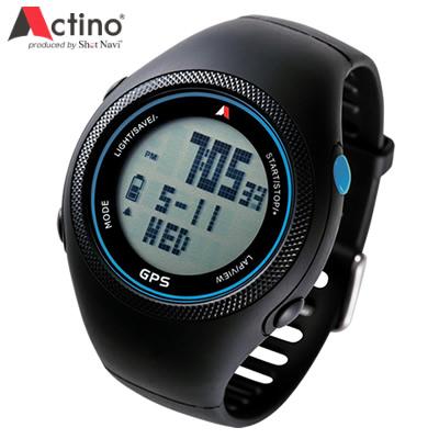 【キャッシュレス5%還元店】アクティノ Actino Running GPS Watch WT300 ランニングウォッチ WT300-BLUE ブルー 【送料無料】【KK9N0D18P】