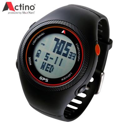 アクティノ Actino Running GPS Watch WT300 ランニングウォッチ WT300-RED レッド 【送料無料】【KK9N0D18P】