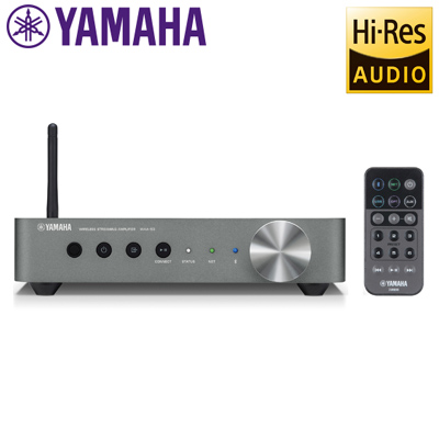 ヤマハ WXA-50 ワイヤレスストリーミングアンプ アンプ内蔵型 ネットワークオーディオコンポ ハイレゾ音源対応 ダークシルバー 【送料無料】【KK9N0D18P】