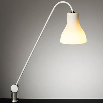 山田照明 スタンドライト クランプ型 電球色LEDライト Minimo Z-J9000W ホワイトセード 【送料無料】【KK9N0D18P】