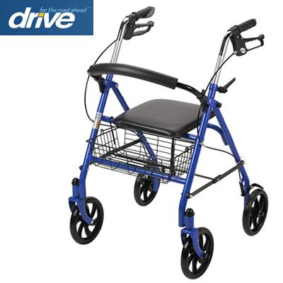 【非課税】 ドライブメディカル 歩行車 ピアチェーレ ウノ Piacere Uno 10257BL-1 ブルー 四輪歩行器 Drive Medical【送料無料】【KK9N0D18P】