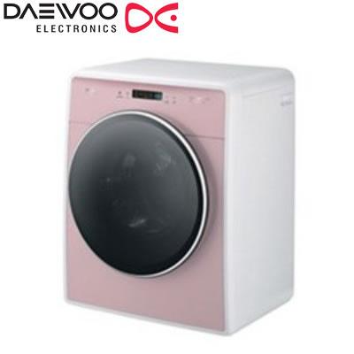 DAEWOO ドラム式洗濯機 洗濯・脱水3.0kg DW-D30A-P ピンク 乾燥機能なし 大宇【送料無料】【KK9N0D18P】