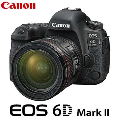 キヤノン デジタル一眼レフカメラ EOS 6D Mark II 24-70 F4L IS USM レンズキット EOS6DMK2-2470ISLK CANON【送料無料】【KK9N0D18P】