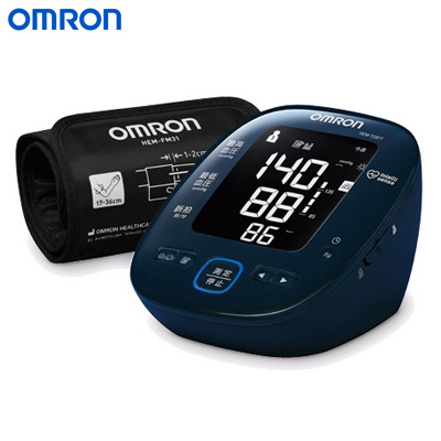 オムロン 上腕式血圧計 HEM-7281T ダークネイビー【送料無料】【KK9N0D18P】