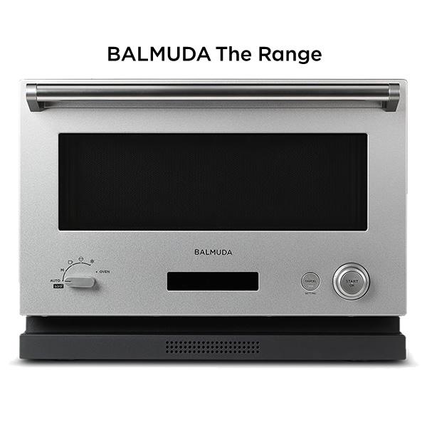 バルミューダ オーブンレンジ BALMUDA The Range K04A-SU ステンレス 18L【KK9N0D18P】