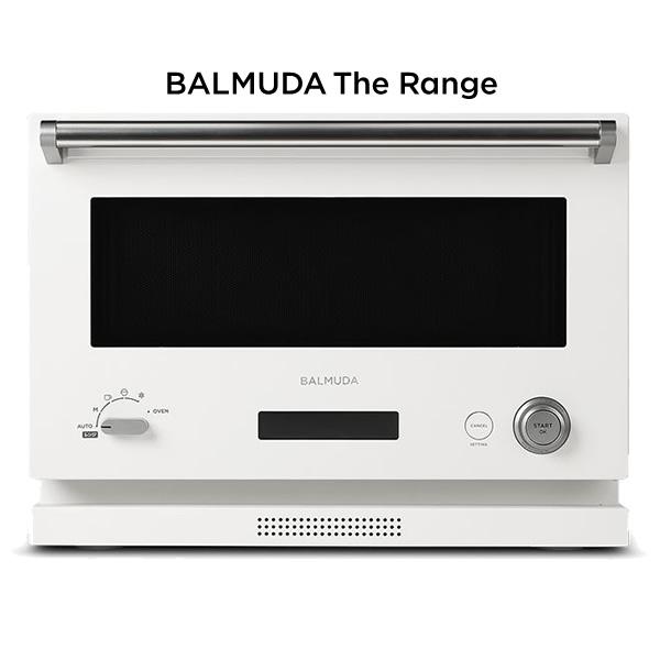 バルミューダ オーブンレンジ BALMUDA The Range K04A-WH ホワイト 18L【送料無料】【KK9N0D18P】