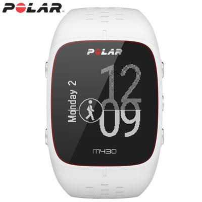 【キャッシュレス5%還元店】ポラール Polar M430 GPSランニングウォッチ Sサイズ 活動量計 M430-WH-S ホワイト【送料無料】【KK9N0D18P】