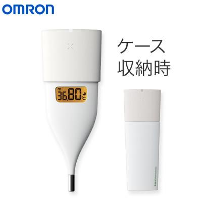 約10秒のスピード検温 スマホで体温管理やリズム管理も可能 新作製品、世界最高品質人気! 業界No.1 即納 オムロン 婦人用電子体温計 ホワイト MC-652LC-W 送料無料 口中専用 KK9N0D18P