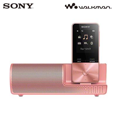 ソニー 16GB ウォークマン Sシリーズ NW-S310Kシリーズ スピーカー付属モデル NW-S315K-PI ライトピンク 【送料無料】【KK9N0D18P】