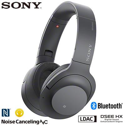 ソニー ワイヤレスノイズキャンセリングステレオヘッドセット h.ear on 2 Wireless NC WH-H900N-B グレイッシュブラック【送料無料】【KK9N0D18P】