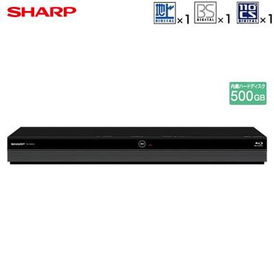 シャープ アクオス ブルーレイディスクレコーダー ドラ丸 500GB HDD内蔵 BD-NS520【送料無料】【KK9N0D18P】