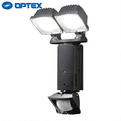 オプテックス LEDセンサーライト 調光2灯タイプ EL202L OPTEX 【送料無料】【KK9N0D18P】